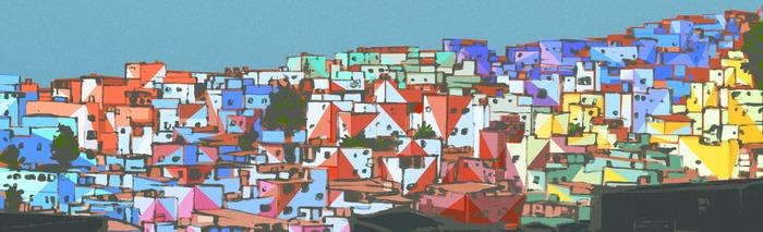 Painting Favela Concept